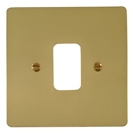 G&H Flat Plate Polished Brass